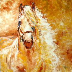 golden-grace-equine-abstract-marcia-baldwin.jpg (900×900)