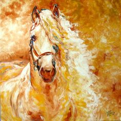 golden-grace-equine-abstract-marcia-baldwin.jpg (900×900)
