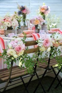 Party floral decor