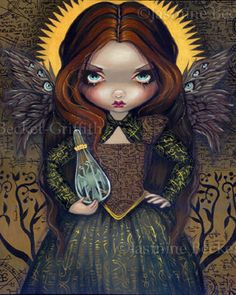Gothic Alchemy Art : Dress of Alchemy by Jasmine Becket-Griffith