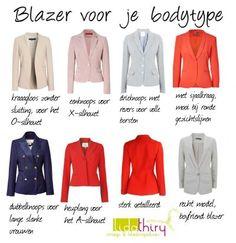 Een blazer is een veelzijdig kledingstuk dat in elke garderobe thuis hoort. Vind hier de ideale blazer voor jouw bodytype.