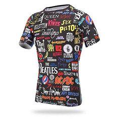34993da33 xintown rock Mens Cycling short Sleeve Jacket Bicycle Shirt Cycling Clothing  TShirts Cycling Jersey   Check