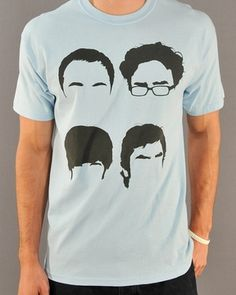 Shop for the Big Bang Theory Faces T Shirt today. This is an officially licensed Big Bang Theory T-Shirt available at Stylin Online now. Funny Outfits, Cool Outfits, Funny Clothes, Nerd Fashion, Indie Fashion, Favorite Words, Favorite Tv Shows, Nerd Love, Book Tv