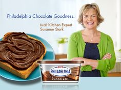 Kitchen Talk - philadelphia chocolate goodness - Kraft First Taste Canada Mint Brownies, Holiday Cookies, Diy Projects To Try, Recipe Box, Gravy, Philadelphia, Sauces, Cow, Recipies