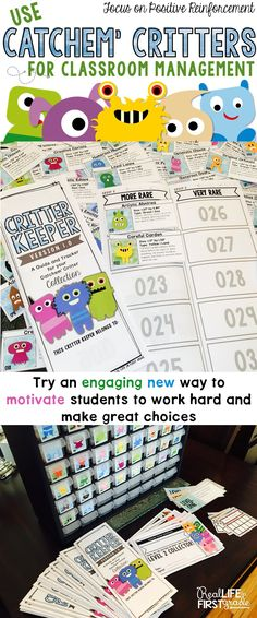 A fresh new idea for a behavior management system for the classroom OR home! Focuses on making positive choices. Teachers can reward students with these creative incentives. Works great with children with special needs! Click the image to read the blog post!