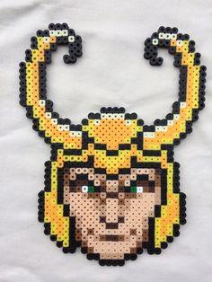 Loki Perler Bead Sprite