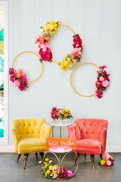 Hot Pink Wedding Inspiration at the Fig House in Los Angeles, CA: Creative Color & Endless Energy - an Aisle Planner Wedding Styled Shoot.