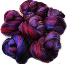 Hydra  mini batts 2 oz superwash superfine merino by hobbledehoy