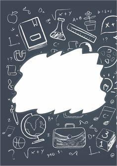 Portadas para cuadernos de historia, biología, matemática, comunicación, arte, música, ciencias sociales Math Wallpaper, Iphone Wallpaper Vsco, Galaxy Wallpaper, Earth Day Drawing, School Binder Covers, Binder Cover Templates, Kids Background, School Frame, School Labels