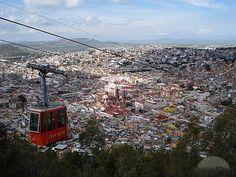 El teleferico en Zacatecas México
