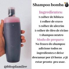 Curly Afro Hair, Curly Hair Tips, Curly Hair Styles, Natural Beauty Recipes, Beauty Tips For Hair, Hair Beauty, Hair Care Recipes, Diy Shampoo, Natural Shampoo