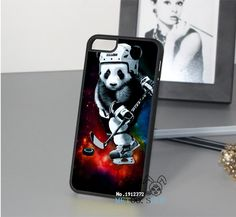 toca de panda play ice hockey fashion original cell phone case cover for iphone 4 4S 5 5S 5C 6 6 plus 6s 6s plus &op4340 - Buy Phone Case…