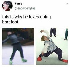 relate!!! also how is he the same one who slayed i need u while wearing heels????? TAE WHAT IS THE…