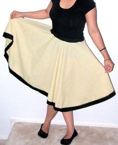 Topsycurvy Beautiful Flairy Skirt with by TopsyCurvyDesigns