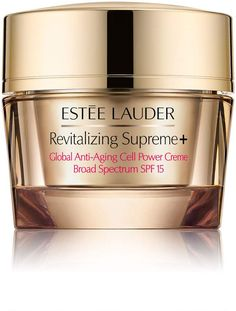 Estée Lauder's Revitalizing Supreme+ Global Anti-Aging Cell Power Creme SPF 15 is the key to firmer, smoother, radiant-looking skin. Anti Aging Tips, Best Anti Aging, Anti Aging Cream, Anti Aging Skin Care, Skin Care Regimen, Skin Care Tips, Hair Care, Nordstrom, Olay