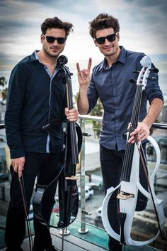 Stjepan Hauser & Luka Sulic (also known as 2 Cellos) in Vencie Beach CA