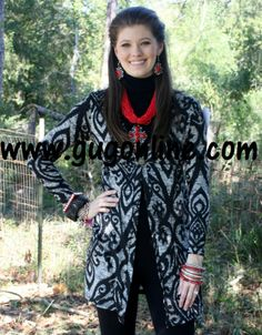 Remember Me Cardigan in Black $36.95 www.gugonline.com
