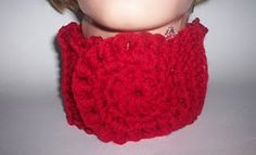 Bullion Stitch Neckwarmer free #crochet pattern