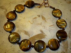 #necklaces #jewelry #tigers eye #natural stones