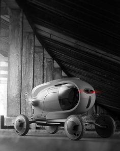 Capsule - Concept Vehicle by Jason Chen