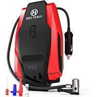 Built in LED Light Portable air Compressor tire Inflator for Car House Envy Easy to Read Digital Pressure Gauge
