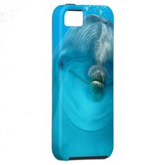 Smiling Dolphin iPhone 5 Case Take it today only with 50% discount (off all cases) with code CASEOFMONDAY