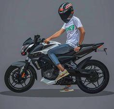Pulsar Rs 200, Pulsar 200ns, Wallpaper Iphone Neon, Boys Wallpaper, Camera Cartoon, Cute Cartoon Boy, Phineas E Ferb, Duke Bike, Bike Couple