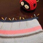 adding a zipper to a crochet