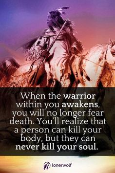 Which Kind of Spirit Warrior Are You? {Free Test The spiritual warrior within. ~ Courage quotes This image has get. Native American Prayers, Native American Spirituality, Native American Cherokee, Native American Wisdom, Native American History, American Indians, American Symbols, Indian Spirituality, Native American Horses