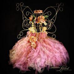 Enchanted Romantic Rose Fairy Ware vintage by enchantedfairyware, $200.00
