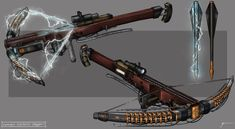 The Order 1886 : Automatic Electrified Crossbow by InVenatrix.deviantart.com on @DeviantArt