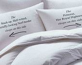 Star Wars, Hans Solo, Personalized, Custom,  Pillowcase set, pillowcase, bride, groom, pillowcases, wedding gift