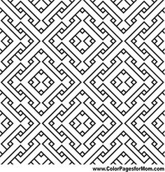 Geometric Coloring Page 80