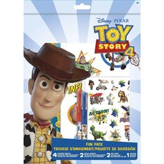 Autocollants Fun Pack Toy Story 4 de Disney | Up&Scrap Toy Story 4 Cast, Toy Story 3 Movie, Toy Story 1995, 2 Movie, Disney Pixar, Disney Up, Disney Toys, Bo Peep Toy Story, Jessie Toy Story