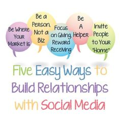 5 Easy Ways to Build Relationships With Social Media