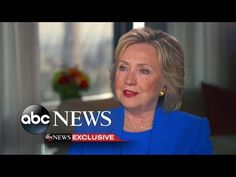 Hillary Clinton Discusses Private Email, Donald Trump, Iran - YouTube