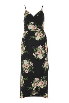 Strappy Floral Wrap Dress - Topshop Europe