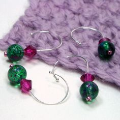 Crochet Stitch Markers Diy : DIY and Crafting - Crochet on Pinterest Stitch markers, Crochet ...