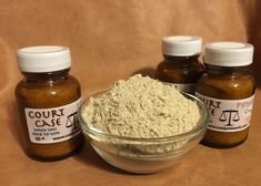 Court Case Powder is for use in any spell work you are doing to deal with court matters. You can dress candles (usually brown) with Court Case Oil, then roll the candles in this powder. Petition papers and mojo bags can be dusted with it, too.