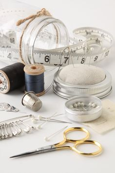 Mason Jar Sewing Kit - Anthropologie.com