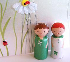 Little St Patricks Day Girls