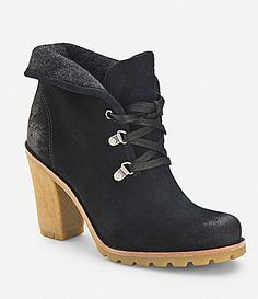 UGG Australia Calynda Suede Booties #Dillards love the dark brown!!! Adding to my Christmas list