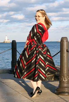 """The """"From Loathing to Loving Nautical"""" Dress 