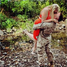Pre-Deployment photos with my Marine