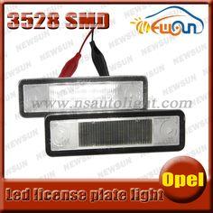 $22.00 (Buy here: https://alitems.com/g/1e8d114494ebda23ff8b16525dc3e8/?i=5&ulp=https%3A%2F%2Fwww.aliexpress.com%2Fitem%2F2015-New-car-auto-parts-12V-7000K-led-license-plate-light-for-Omega-A-B-Vectra%2F32266073793.html ) 2016 New car auto parts 12V 7000K led license plate light for Omega A  B/Vectra/Zafira A led driving license light for Opel for just $22.00