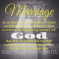 As Christians we are in a blood covenant with God through Jesus. (Hebrews 9:15). God never broke or will break his promise to us because he L♡VES us so much . ツ THIS is how we should regard marriage. Marriage is solid (Mark 10:7-9) Marriage is L❤VE (Ephesians 5:28, 1 Peter 4:8, Ephesians 3:1-2) #covenantmarriage #love #notw #Godlymarriage #asformeandmyhouse #perspective #kapow #baddabing #weddingvows