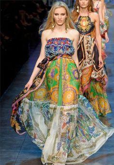 tutorial: how to sew a boho maxi dress