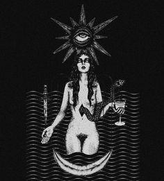 Dark forest, glow of the lake, an eternal dance of death Pagan Art, Occult Art, Dark Fantasy Art, Dark Art, Pop Art, Satirical Illustrations, Dance Of Death, Satanic Art, Sad Anime Girl