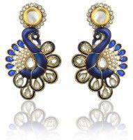Zaveri Pearls Diamond Alloy Chandelier Earring