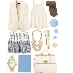 Powder Blue & Vanilla
